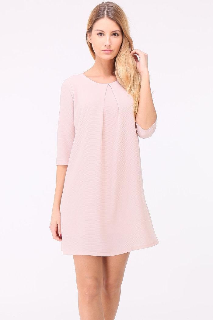 Kleider rosa mit armel