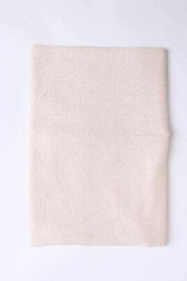 Beiger heller Damen Schal unifarben - Modeschal von Lil Moon - Detailansicht