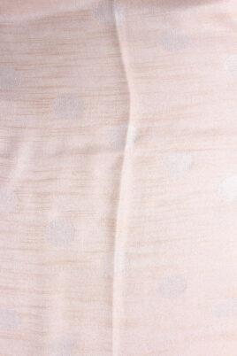 Goldener Damen Schal in leichter Glanzoptik asymmetrisch - Modeschal von Lil Moon - Detailansicht