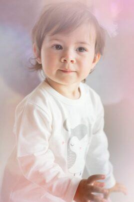 Ecru weißes Baby Mädchen Langarmshirt mit Eulen Motiv - Langarm Tier Shirt & Babyshirt von Pinokio - Kinderphoto