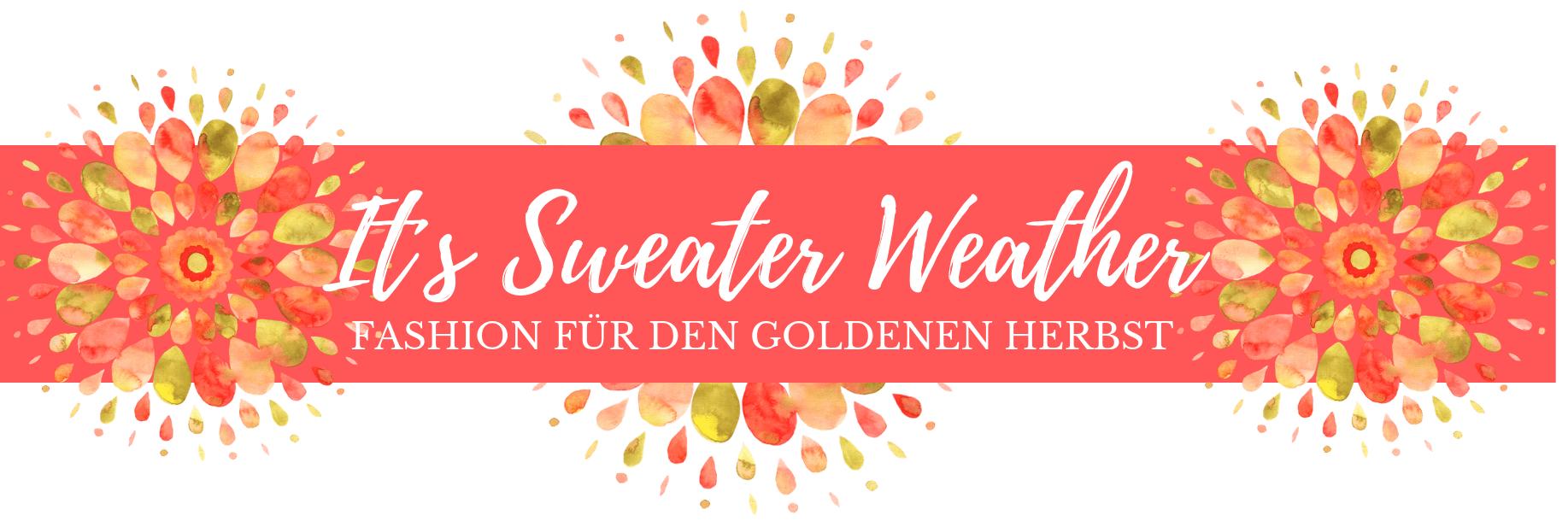 Herbstmode 2018 für Damen - Farbenfrohe Pullover & Sweater