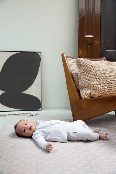 Dirkje 3er Set Baby Jogginganzug mit gemusterter Jacke, bequemer Hose & Rundhalsshirt langarm mit Aufdruck für Jungen & Mädchen - Babyphoto Kinderphoto