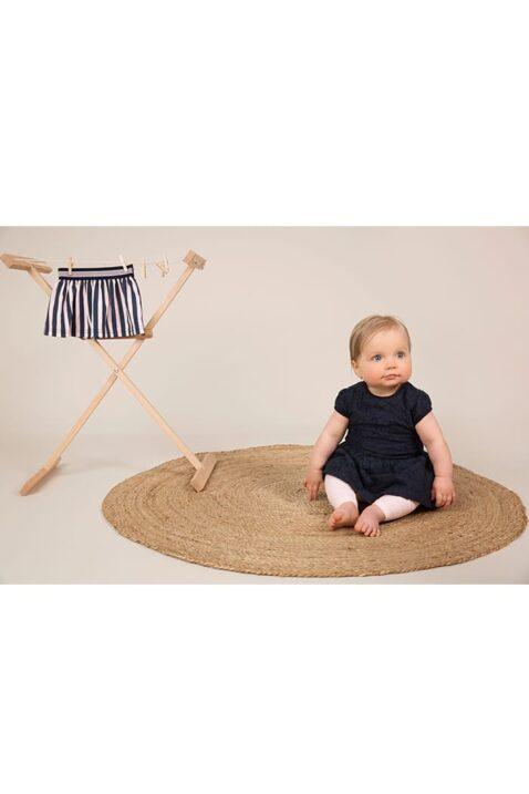 Babykleid Sommerkleid kurzarm mit Spitze + Faltenrock - Kinderkleid mit Reißverschluss von Dirkje – Babyphoto