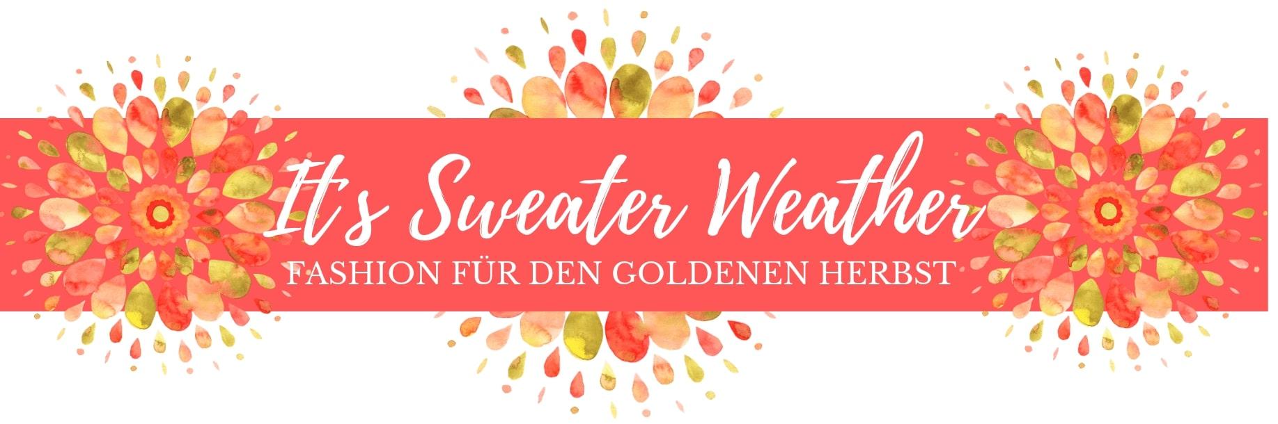 Must haves für die Herbsttage 2019 - Pullover für Damen